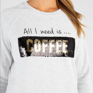 Marc NY performance all I need is coffee sweater